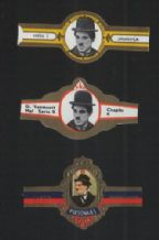Charlie Chaplin movies Collectible cigar labels  #030